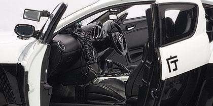 mazda rx8 police car die cast mod le de collection autoart 75961. Black Bedroom Furniture Sets. Home Design Ideas