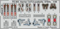 Harrier T.4/T.8 seatbelts STEEL  KINETIC - Image 1