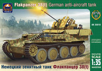 German anti-aircraft tank Flakpanzer 38(t)