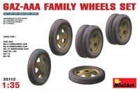 Soviet GAZ-AAA Family wheels set