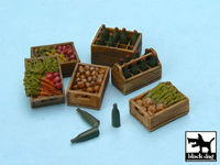 Food supplies #2 accessories set 24 resin parts + bottles