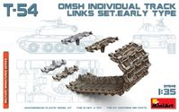 T-54 OMSH INDIVIDUAL TRACK LINKS SET.EARLY TYPE - Image 1