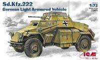 Sd.Kfz.222 German WW2 Light Armored Vehicle - Image 1