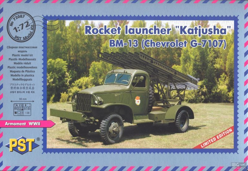 Katyusha BM-13 on Chevrolet G.7107 - Image 1
