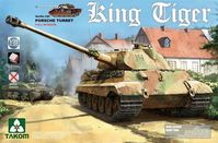 Sd.Kfz.182 King Tiger Porsche Turret Full Interior with new track parts - Image 1