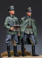 Wehrmacht Officers, WWII - Image 1