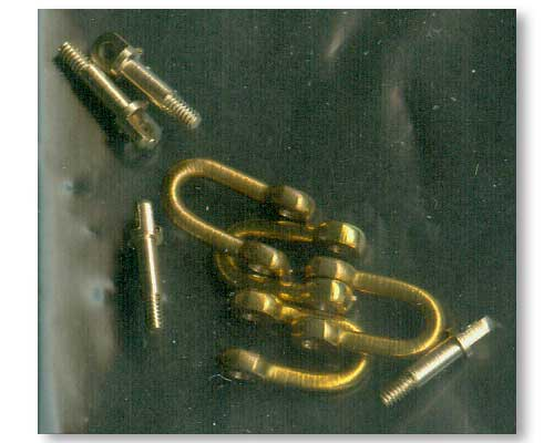 Late model shackle for Pz.Kpfw.V Panther x 4pcs - Image 1
