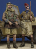LRDG Trooper & Hussar Officer WW II