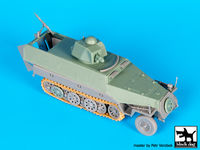 Sd.Kfz.251 ausf D with Hotchkiss turret conv.set for Dragon - Image 1