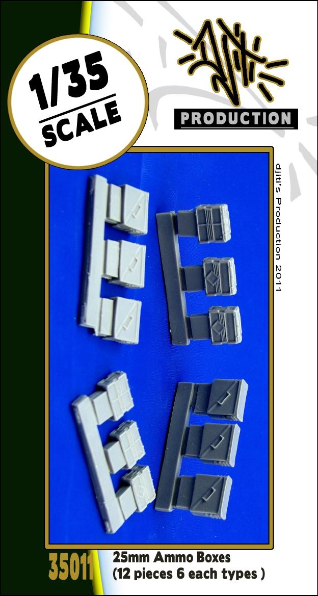 S//10EA Legend Production LF1298 WWII CAL.50 en bois munitions Crate Set 1:35