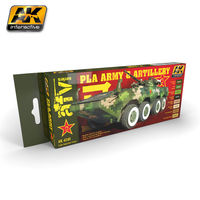AK 4240 PLA Army and Artillery colors set
