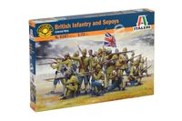 British Infantry and Sepoys - Image 1