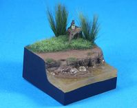 Rivers Bank figure base (48*48*25mm3)