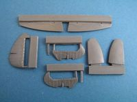 Spitfire Mk. IX control surfaces late for Airfix - Image 1