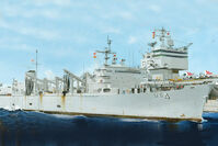 AOE Fast Combat Support Ship USS Detroit (AOE-4)