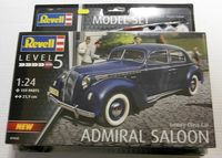 Luxury Class Car Admiral Saloon Model Set - Image 1