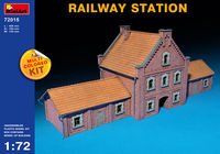 Railway Station (Multi-Colored Kit)