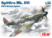 Spitfire Mk .XVI    WWII British fighter