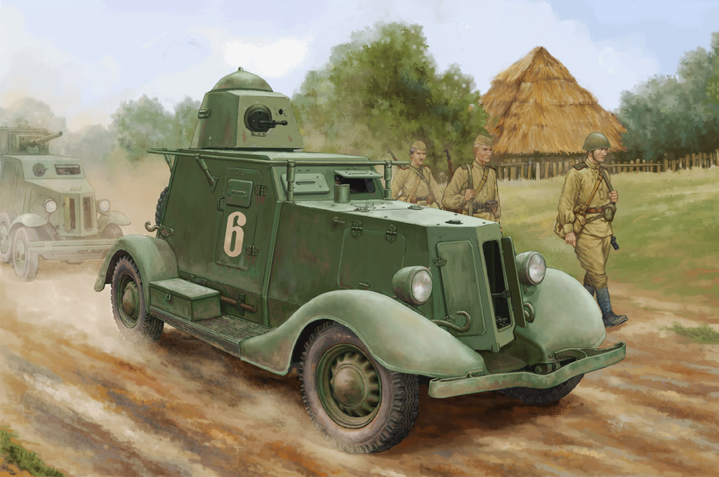 Ba-20 Armored car (Model1937r.) - Image 1