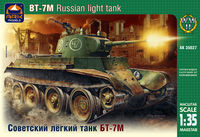 BT-7M Russian light tank