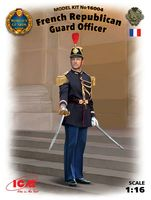 French Republican Guard Officer (100% new molds)
