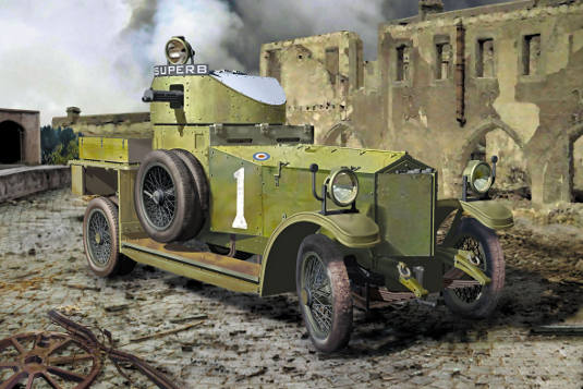 British Armoured Car (Pattern 1914) - Image 1