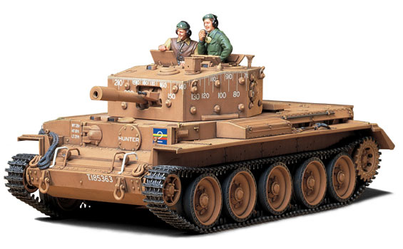- 35232 TAMIYA Centaur C.S Echelle 1:35 IV BRITISH CRUISER TANK Model Kit Mk