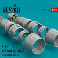 F-111 (F) exhaust nozzles for HobbyBoss Kit - Image 1