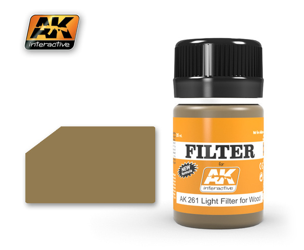 AK 261 LIGHT FILTER FOR WOOD,35ML - Image 1