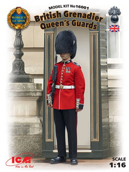 British Grenadier Queens Guards (100% new molds) - Image 1