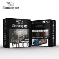 RAILROAD PIGMENTS SET