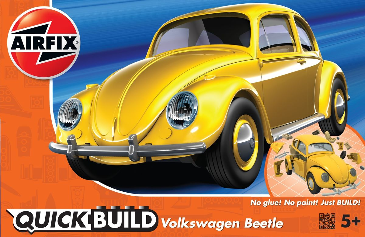 VW Beetle Yellow (Quickbuild) - Image 1