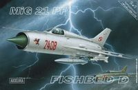 MiG 21 PF Fishbed D - 2+1 Twin pack