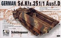 Sd.Kfz. 2511 Ausf.D Shutzenpanzer Model Tanks AFV Club - Image 1
