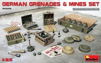 German Grenades & Mine Set - Image 1