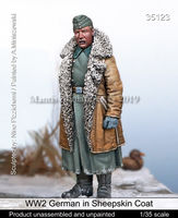 WW2 German in Sheepskin Coat