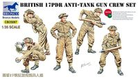 British 17pdr Anti-Tank Gun Crew Set - Image 1