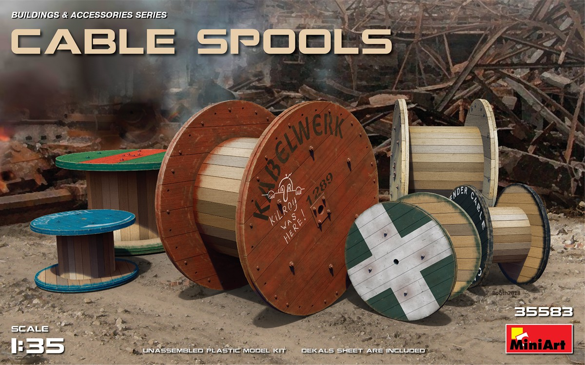 Cable Spools - Image 1