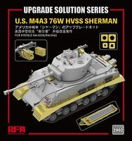 Upgrade Solution for U.S. M4A3 76W HVSS Sherman for RM-5028/RM-5042