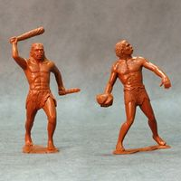 Cavemen, set of two figures #2