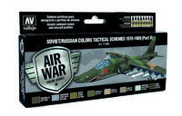 71608 Air War Color Series - Soviet/Russian Colors Tactical Schemes 1978-1989 (Part II) - set