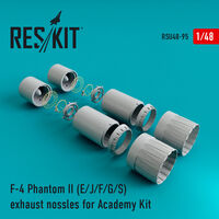 F-4 Phantom II (E/J/F/G/S) exhaust nossles for Academy Kit - Image 1