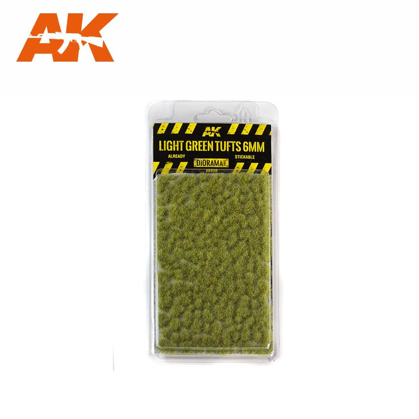 Light Green Tufts 6mm - Image 1
