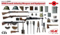 French Infantry Weapon and Equipment (1914-1918)