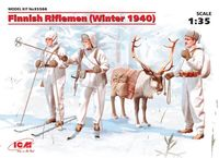 Finnish Riflemen (Winter 1940) (4 figures)