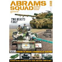 Abrams Squad  nr 11 - Two Beasts Fight, Greek Leopard, Pakistani Type 69, Afganistan Diorama, (Canadian RG-31), 2S7M PION