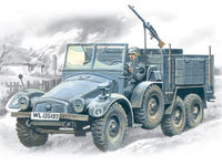Krupp L2h143 Kfz.70 German Light Army Truck