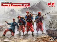 French Zouaves (1914) (4 figures)