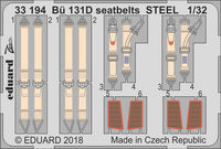 Bü 131D seatbelts STEEL  ICM - Image 1