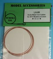 0.4mm Metal wire rope for AFV Kits - Image 1